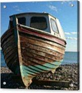 Wooden Boat Acrylic Print