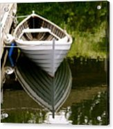 Wooden Boat Acrylic Print