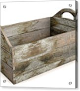 Wooden Carry Crate Acrylic Print