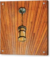 Wooden Ceiling Acrylic Print