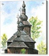 Wooden Church Acrylic Print