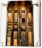 Wooden Door 1 Acrylic Print