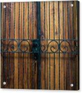 Wooden Door 2 Acrylic Print