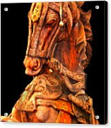 Wooden Horse Acrylic Print