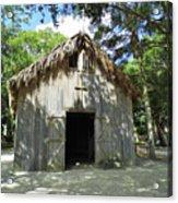 Wooden Mission Of Nombre De Dios Acrylic Print