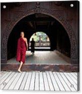 Wooden Monastery Acrylic Print