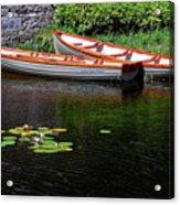 Wooden Rowboats Acrylic Print