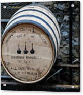 Woodford Reserve Barrel Acrylic Print