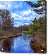 Woodhull Creek Acrylic Print