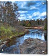 Woodhull Creek In May Acrylic Print