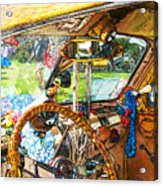 Woodie World Acrylic Print