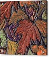 Woodland Carpet Acrylic Print