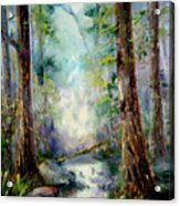 Woodland Creek 1.0 Acrylic Print