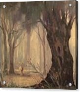 Woodland Fawn Acrylic Print