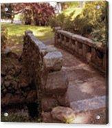 Woodlawn Footbridge Acrylic Print