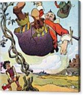 Woodrow Wilson Cartoon Acrylic Print by Granger