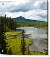 Wood's Lake Summer Landscape Acrylic Print