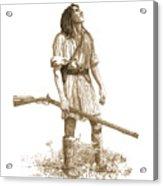 Woodsman Acrylic Print