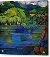 Woodstock Acrylic Print
