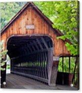 Woodstock Middle Bridge Acrylic Print