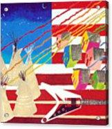 Woodstock Nation Acrylic Print