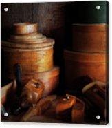 Woodworker - Shaker Box Shop  Acrylic Print