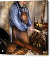 Woodworker - The Carpenter Acrylic Print