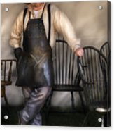 Woodworker - The Chair Maker  Acrylic Print