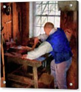 Woodworker - The Master Carpenter Acrylic Print