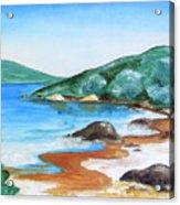 Woolleys Bay New Zealand Northland Acrylic Print