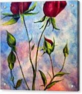 Woop Woop Rose Acrylic Print