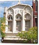 Wooster Building Acrylic Print