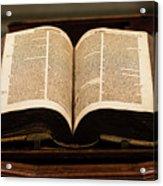 Word Of God Acrylic Print