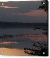 Worden's Pond Sunrise 2 Acrylic Print