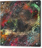 Work 00101 Abstraction Variant 2 Acrylic Print