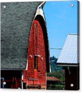 Working Barn Acrylic Print