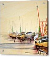 Working Boats Acrylic Print