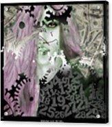 Working Girl Acrylic Print