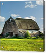Working This Old Barn Acrylic Print