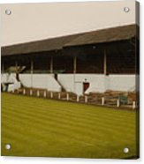 Workington - Borough Park - Main Stand 2 - 1970s Acrylic Print