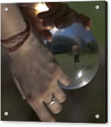 World In Your Hands Acrylic Print