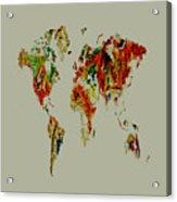 World Map 02a Acrylic Print