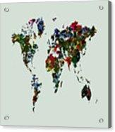 World Map 12b Acrylic Print