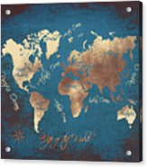 World Map 2065 Acrylic Print