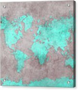 World Map 39 Acrylic Print