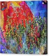 World On Display Acrylic Print