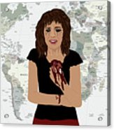 World Pain Acrylic Print