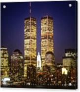 World Trade Center Acrylic Print by Gerard Fritz