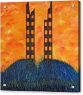 World Trade Towers  Acrylic Print