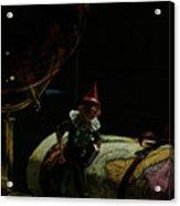 World Traveler Pinocchio Acrylic Print